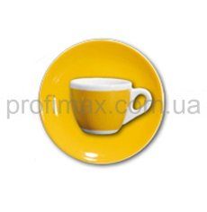 Чашка espresso с блюдцем Ancap Yellow серия Verona Millecolori Decal Print (75 мл)