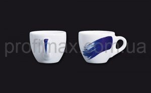 Чашка cappuccino Ancap Blue Verona Millecolori Hand Painted Brush stroke A with handle (180 мл)